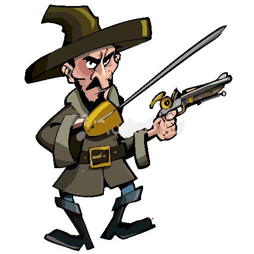 Needlepoint Bandit