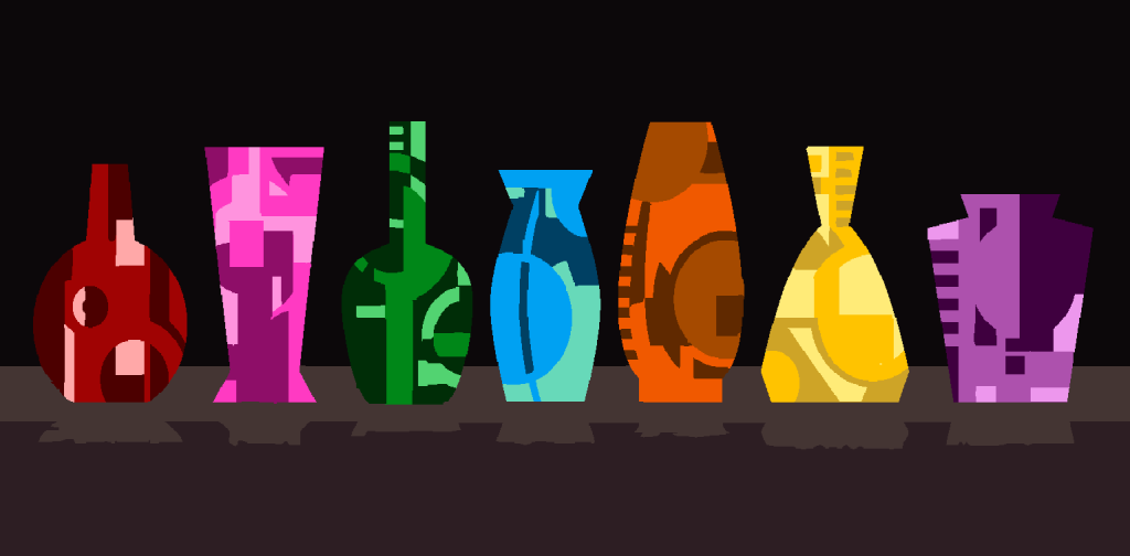 colorful-vases